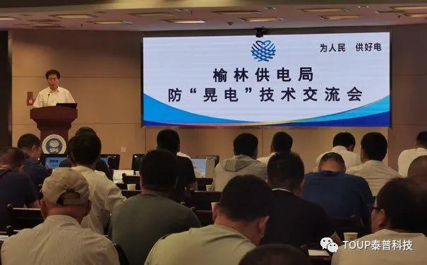 泰普科技受邀参加防晃电技术交流会